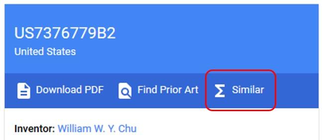 Google Patents Similar