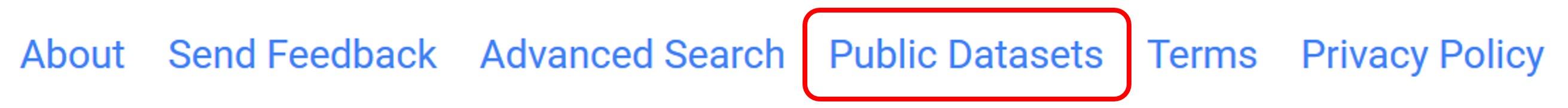 Google Patents Public Datasets Link
