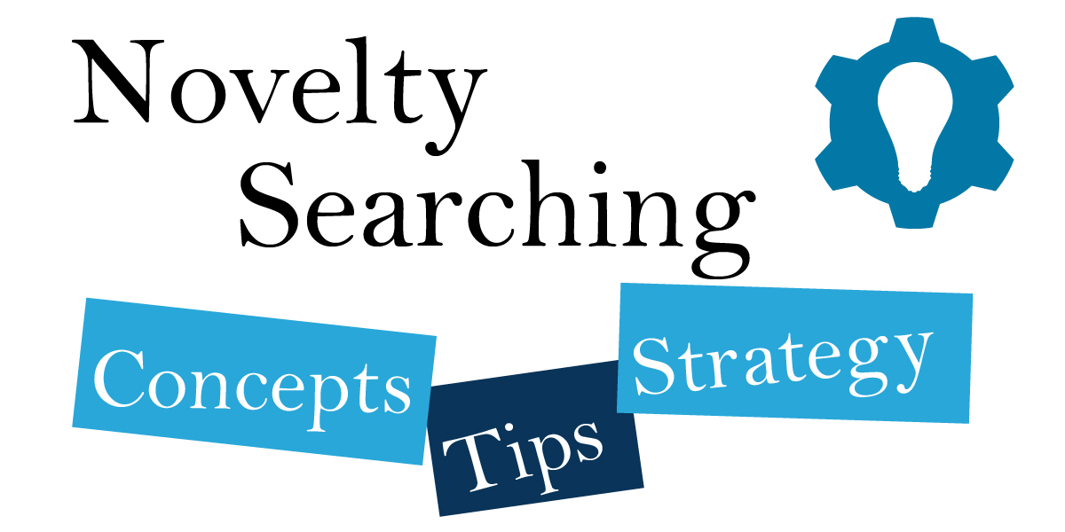 Novelty Searching - Concepts, Tips, & Strategy