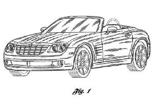 Example image from a design patent
